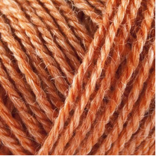 No 3 Nettles + Wool 1115 orange